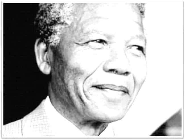 FreeVector Nelson Mandela Portrait 3