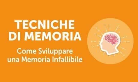 tecniche di memoria