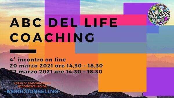 abc del life coaching 4 incontro