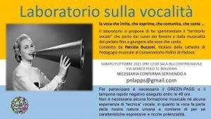laboratorio di vocalita