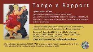 Tango e Rapport